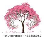 vector illustration an abstract ...   Shutterstock .eps vector #483566062