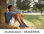 indian boy   Shutterstock . vector #483685846