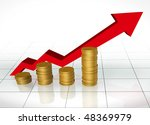 investment grow | Shutterstock . vector #48369979