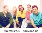 education  leisure and...   Shutterstock . vector #483736612