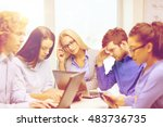 business  office and startup... | Shutterstock . vector #483736735
