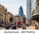 london  uk   june 12  2015 ... | Shutterstock . vector #483756016
