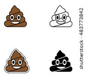 happy poop design. pin  patch ...