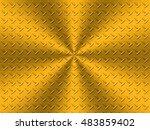 black metal steel background ro ... | Shutterstock . vector #483859402