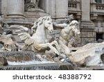 The Trevi Fountain  Italian ...
