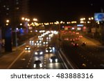 night blurred background