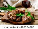 Grilled Lamb Chops Marinated...