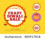 creative sale banner or sale... | Shutterstock .eps vector #483917818