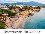 Little Touristic Town Nerja In...