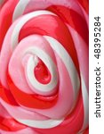 close up image of a red  pink ... | Shutterstock . vector #48395284