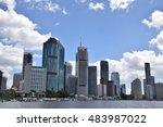 brisbane  australia   march... | Shutterstock . vector #483987022