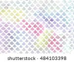 Watercolor Fish Scale Pattern...