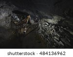 Small photo of Abandoned adit mining of mica in the Chelyabinsk region.