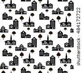 decorative seamless pattern... | Shutterstock .eps vector #484172722
