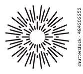 sunburst  | Shutterstock .eps vector #484203352