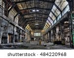 Old Factory Hall   Hdr Vivid...