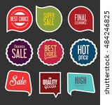 badges and labels collection | Shutterstock .eps vector #484246825
