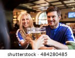 sport  soccer  people and... | Shutterstock . vector #484280485