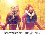 love  friendship  family and... | Shutterstock . vector #484281412
