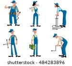vector illustration of a car... | Shutterstock .eps vector #484283896