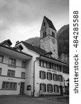 interlaken  switzerland   march ... | Shutterstock . vector #484285588