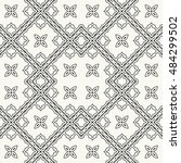 seamless geometric pattern ... | Shutterstock .eps vector #484299502