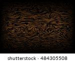 wood background. texture vector ... | Shutterstock .eps vector #484305508