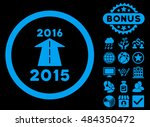 2016 future road icon with... | Shutterstock .eps vector #484350472