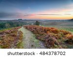 sunrise over rockford common in ... | Shutterstock . vector #484378702