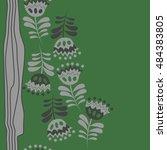 seamless  striped vertical  ... | Shutterstock .eps vector #484383805