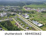 aerial view over the private... | Shutterstock . vector #484403662