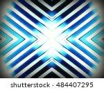 stainless chrome pattern  | Shutterstock . vector #484407295