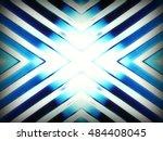 futuristic chrome background | Shutterstock . vector #484408045