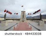 war memorial at hall of fame in ... | Shutterstock . vector #484433038