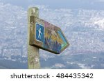quito  ecuador  february 25 ... | Shutterstock . vector #484435342