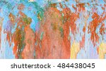 abstract color background... | Shutterstock . vector #484438045