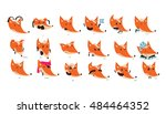 large vector collection with... | Shutterstock .eps vector #484464352