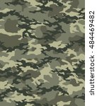 fashionable camouflage pattern  ... | Shutterstock .eps vector #484469482