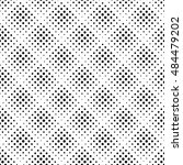 seamless pattern with halftone... | Shutterstock . vector #484479202