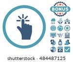click icon with bonus pictogram....