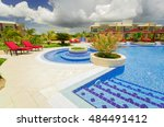 cayo coco island  pullman hotel ... | Shutterstock . vector #484491412