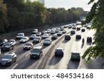 Rush Hour Traffic On An Urban...