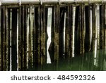 Abstract Of Wooden Pier Piles ...