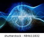 digital vortex series....   Shutterstock . vector #484611832