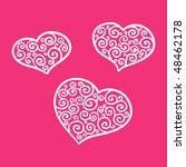 hearts | Shutterstock .eps vector #48462178