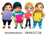 3d rendered illustration of kid ... | Shutterstock . vector #484631728