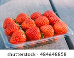 Pile Of Red Strawberry On...