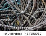 old coiled wire | Shutterstock . vector #484650082