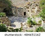 The Garden Tomb In Jerusalem.