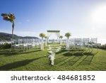 wedding ceremony | Shutterstock . vector #484681852